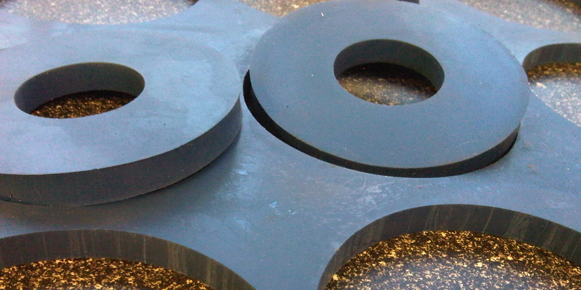 Cut washers